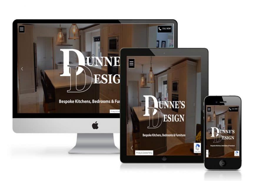 Dunne's Design Website Goes Live