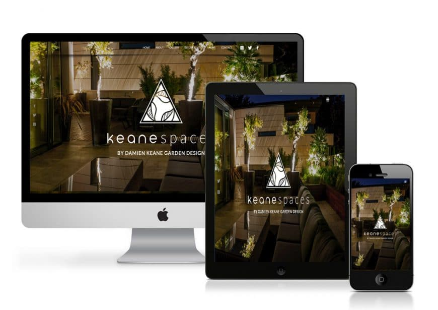 Keane Spaces Website Goes Live