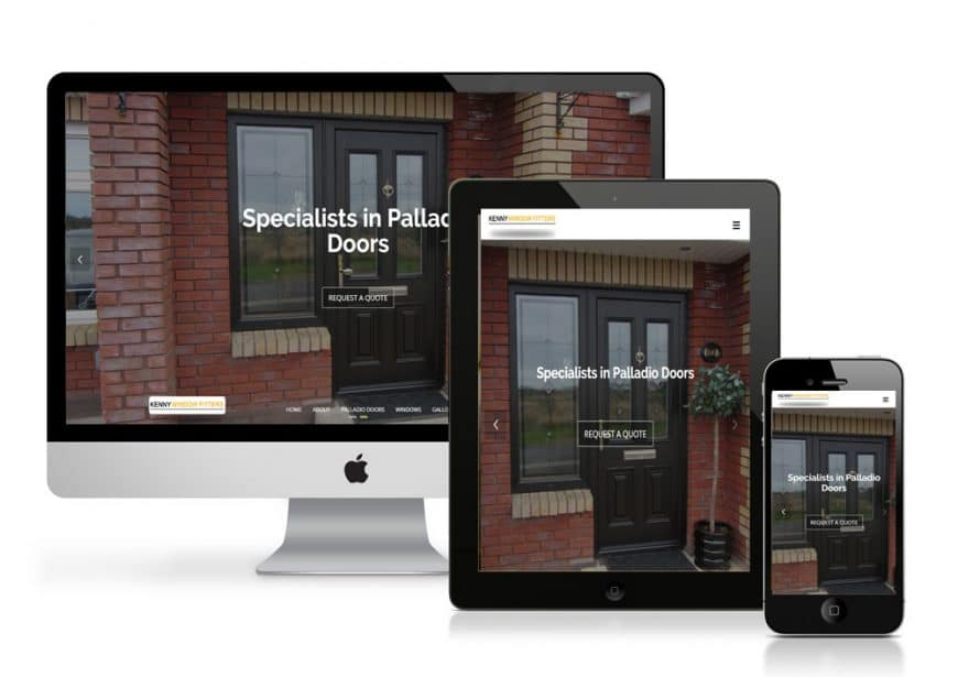 Kenny Window Fitters Website Goes Live