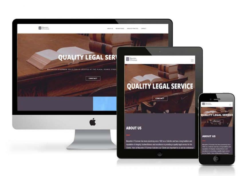 Macarten O'Gorman Law Firm Website Goes Live