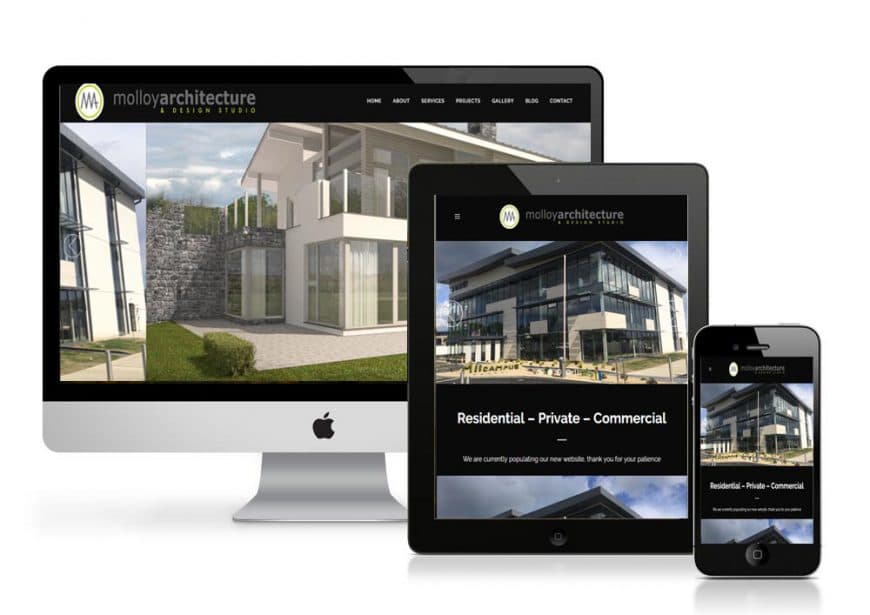 Molloy Architecture Website Goes Live