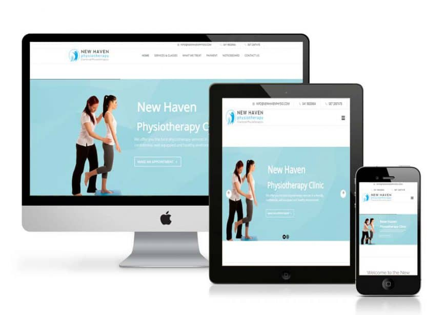 New Haven Physio Website Goes Live