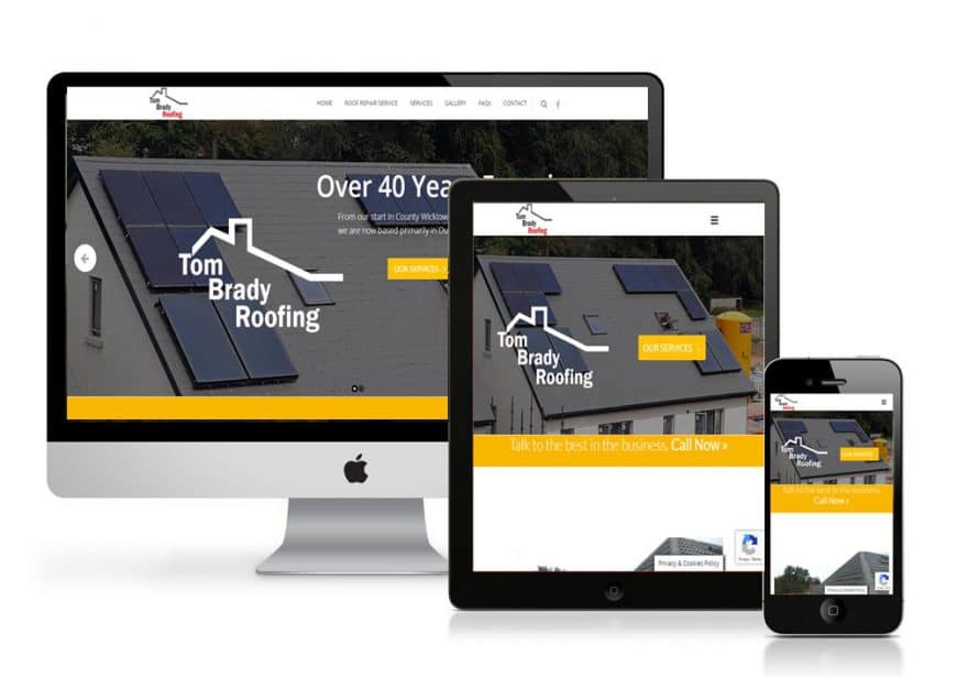 Tom Brady Roofing Website Goes Live