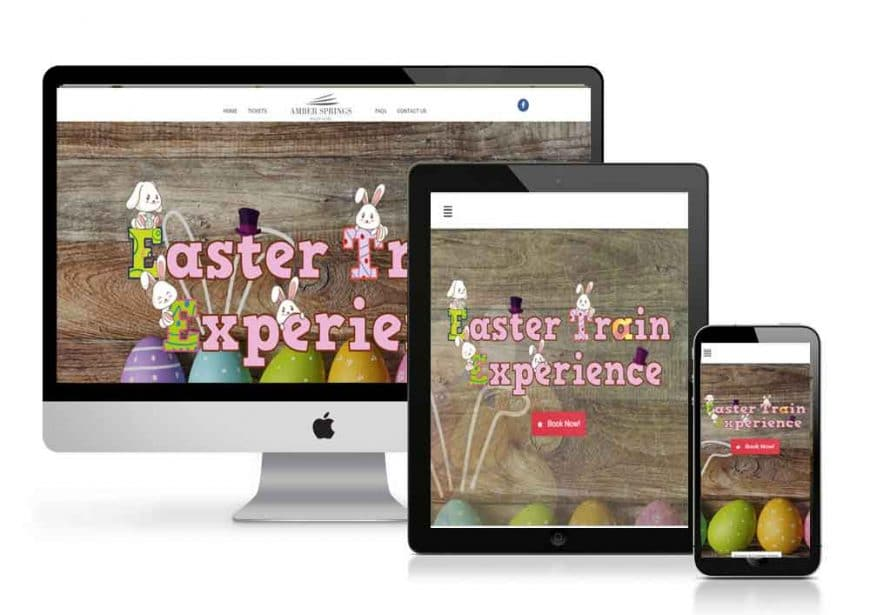 Easter Train Experience Website Goes Live