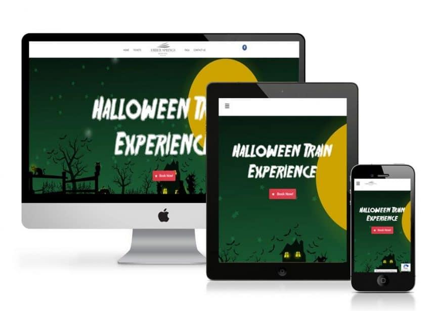 Halloween Train Experience Website Goes Live
