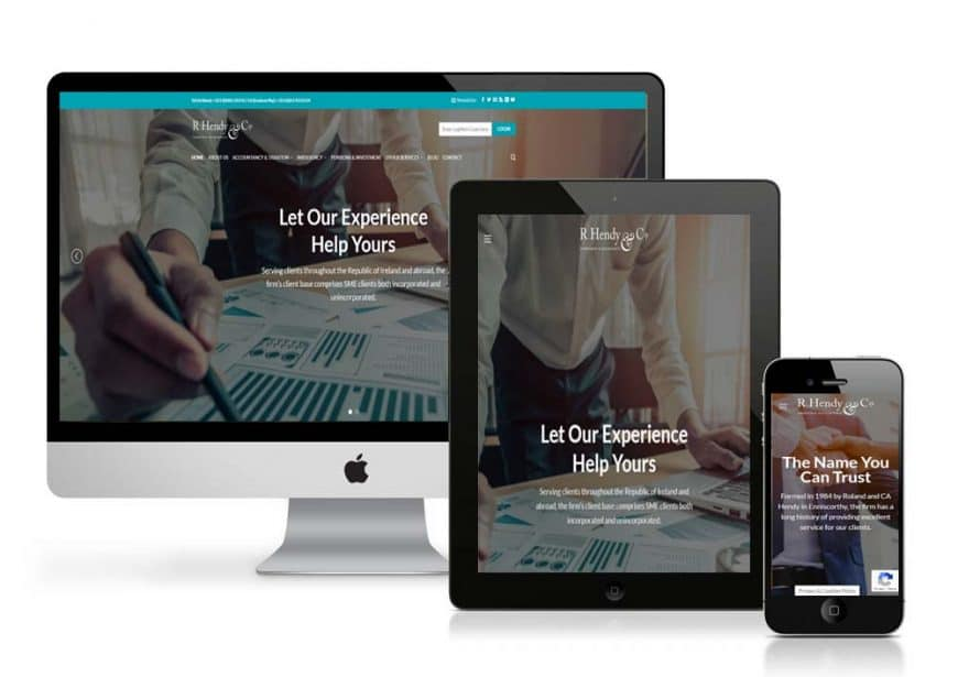 R Hendy & Co. Website Goes Live
