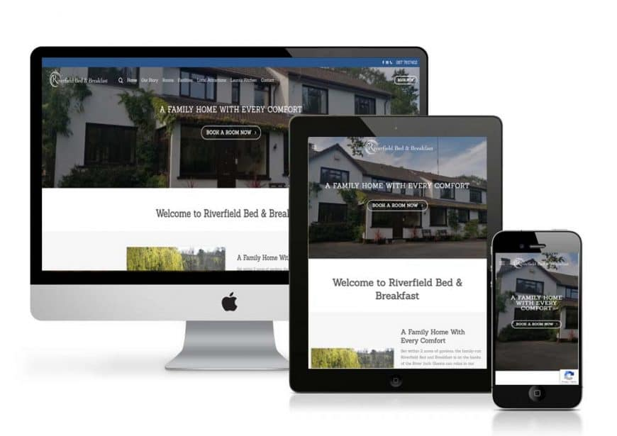 Riverfield B&B Website Goes Live