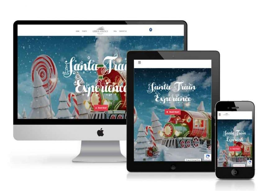 Santa Train Experience Website Goes Live