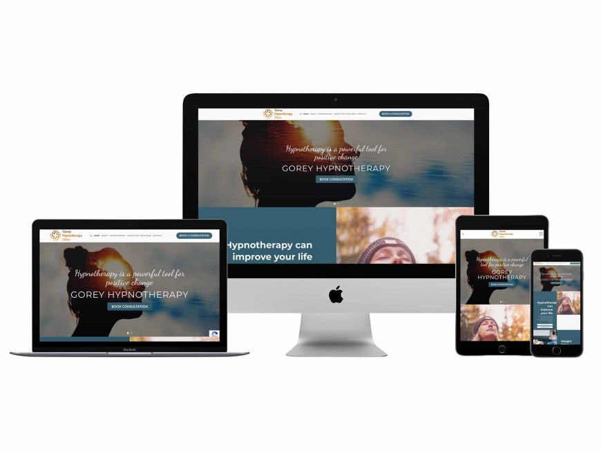 Gorey Hypnotherapy Clinic Website Goes Live