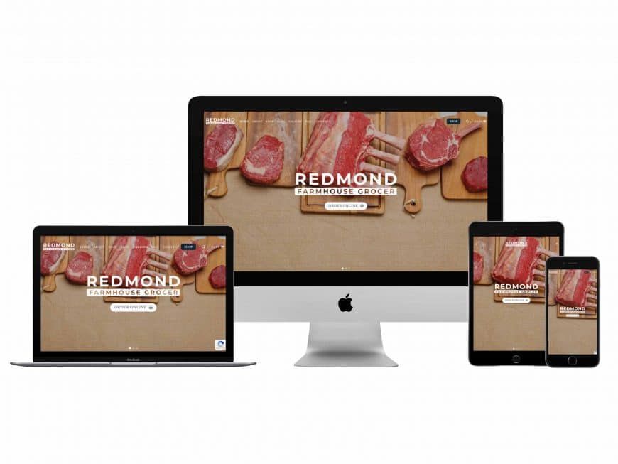 Redmond Farmhouse Grocer Website Goes Live