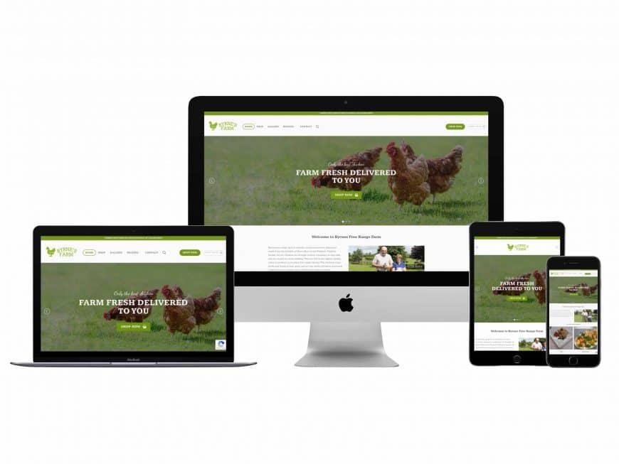 Byrne's Farm Website Goes Live