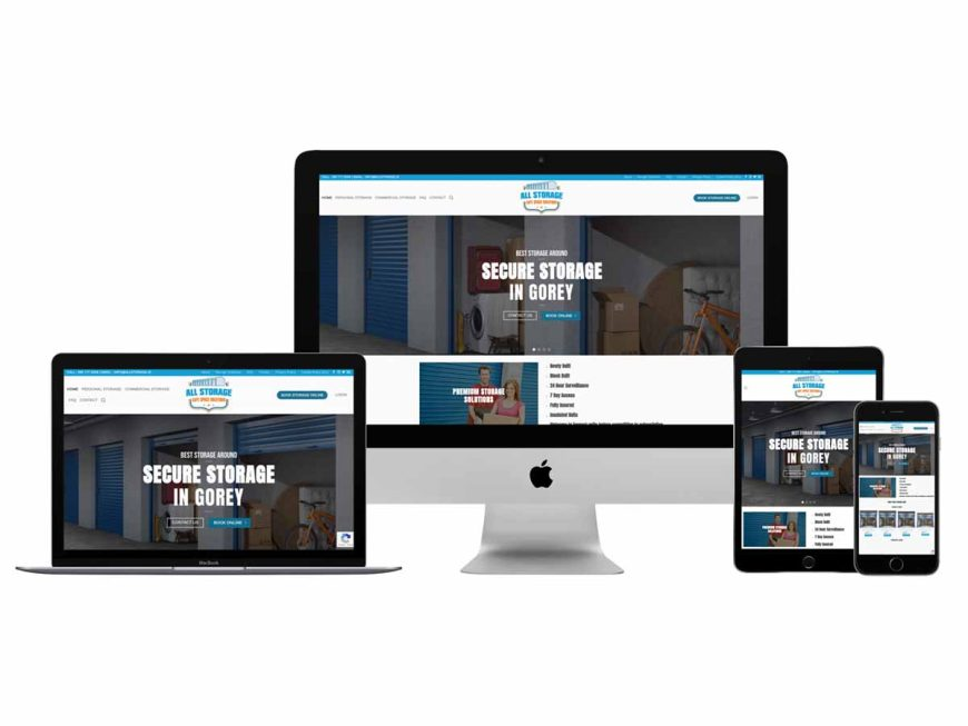 All Storage Website Goes Live